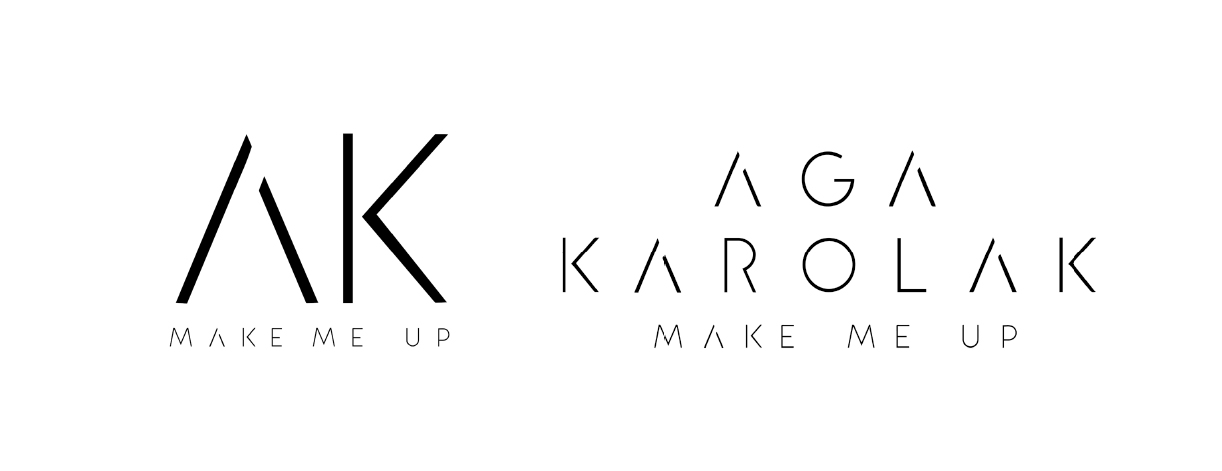 Logotyp Aga Karolak Make Me Up